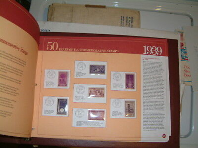 50 YEARS OF US COMMEMORATIVE STAMPS COLLECTION VINTAGE