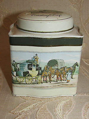 Collectable Coaching Days By Baret Ware Tin Box