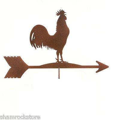 Vintage Rooster Weathervane TOP ONLY - Chicken - Classic Americana Weather Vane