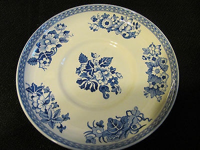 """Spode Blue Room Collection """"blue Groups"""" Saucer"""