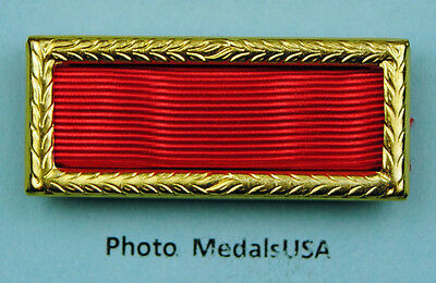 Army Meritorious Unit Commendation Award Ribbon with large frame