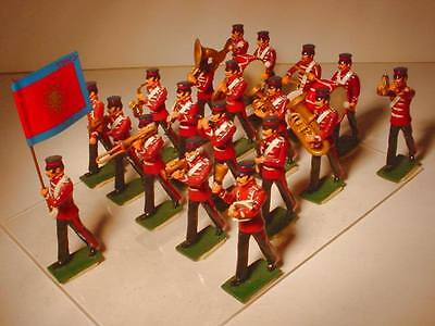 SALVATION ARMY BAND REGENT HALL RED TUNIC/19PC SET/54MM/C.1970/ CHARLES HALL/NB