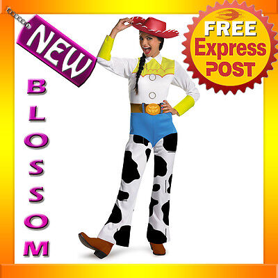 C456 Disney Toy Story - Jessie Classic Cowgirl Fancy Adult Costume + HAT