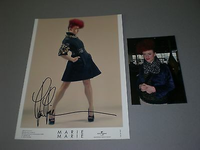 Marie Marie signed signiert autograph Autogramm auf 20x28 Foto in person