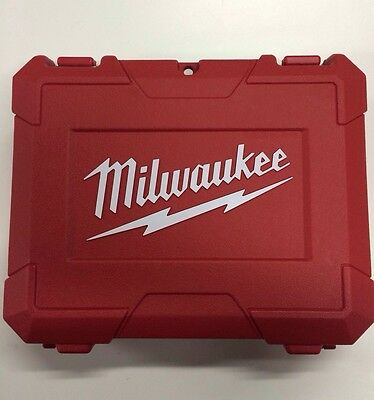 "Milwaukee 3/8"" Drill Driver Case 2408-20 2407-20 2401-20 2450-20 2462-20 M12 12v"