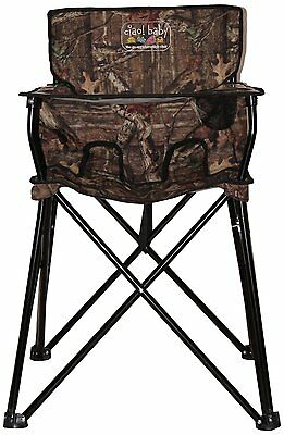 ciao! baby camo ciao Baby portable highchair HB2001 Size 23 x 23 x 32 New
