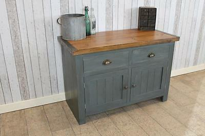 Handmade Vintage Industrial Style Toolmakers Shabby Chic Work Bench