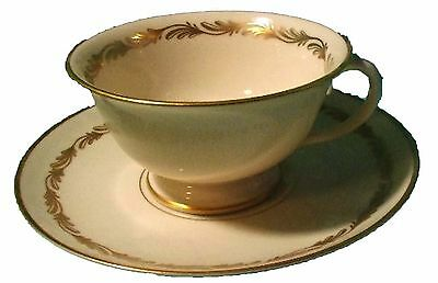 FRANCISCAN China ARCADIA GOLD pattern CUP & SAUCER Set
