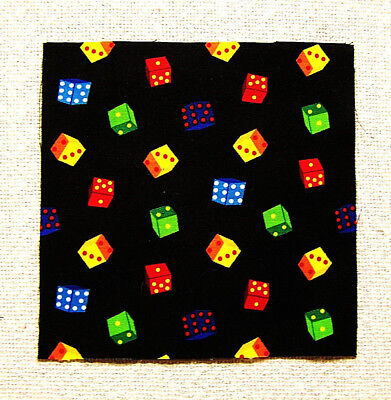 "Chili Peppers 5/"" Squares 36 pcs 100/% Cotton Food Craft//Quilting PGD"