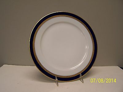 Hutschenreuther CARDIFF Cobalt and Gold  Dinner Plate