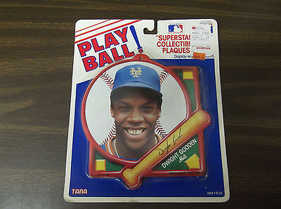 DWIGHT GOODEN 1991 TARA TOY SUPERSTAR COLLECTIBLE PLAQUE METS