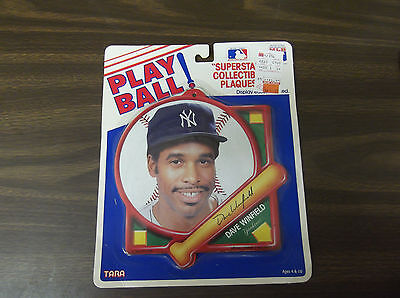 DAVE WINFIELD 1991 TARA TOY SUPERSTAR COLLECTIBLE PLAQUE YANKEES