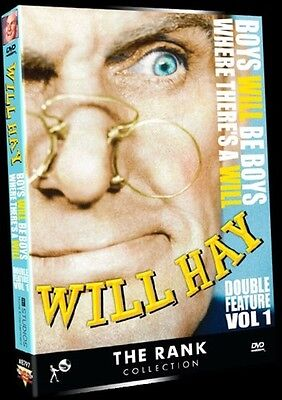 Boys Will Be Boys/Where There's A Will (2013, REGION 1 DVD New)