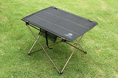 Foldable Folding Table Desk Camping Outdoor Picnic Aluminium Alloy Ultra-light