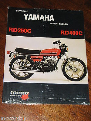 Yamaha Rd250C Rd400C Service Workshop Manual Rd 250C+400C 1979 New, Free Post