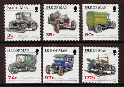 Isle Of Man 2010 Model T Ford Register Unmounted Mint, Mnh