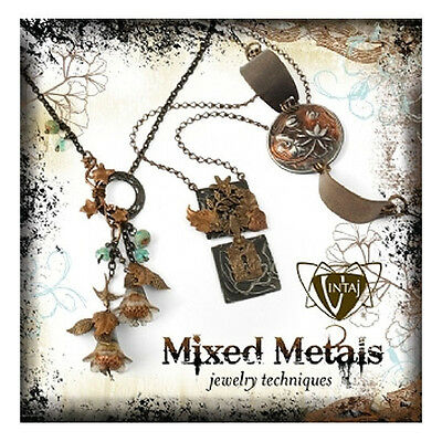 VINTAJ Mixed Metals Jewelry Technique Book 30 pg Color Step by Step Instructions