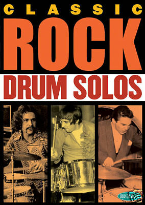 Classic Rock Drum Solos Dvd Keith Moon Neil Peart
