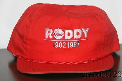 Vintage 1902-1987 Roddy Coca-Cola Bottling Company Knoxville, TN Employee Hat