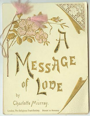 c1900 A Message of Love booklet - Charlotte Murray - beautiful artwork