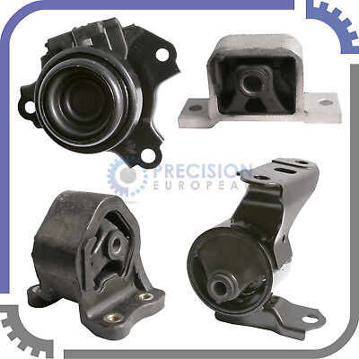 4pc Engine Mount Kit | for 02-06 Honda CR-V 2.4L 4Cyl - Automatic Transmission