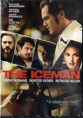 The Iceman (DVD, 2013) R-RATED Wynona Ryder, Ray Liotta, Michael Shanno