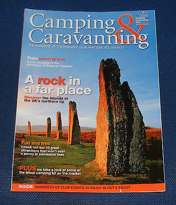 Camping & Caravanning Volume 104 No.5 May 2009 - A Rock In A Far Place