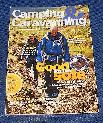 Camping & Caravanning Volume 108 No 5 May 2013 - Good For The Sole