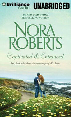 Nora Roberts CAPTIVATED & ENTRANCED Unabridged 13 CD 15 Hrs *NEW* FAST SHIP!