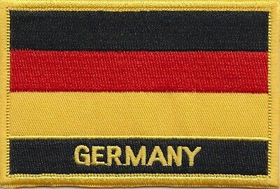 Germany Federal Flag Embroidered Patch Badge - Sew or Iron on