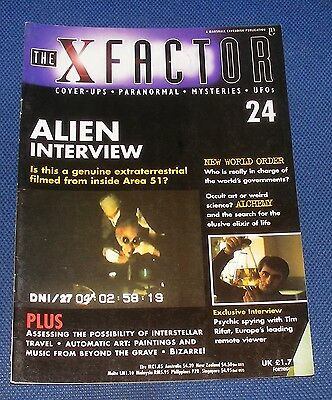 The X Factor No.24 - Alien Interview