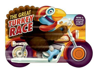 The Great Turkey Race by Jack Davidson (English) Board Books Book Free Shipping!