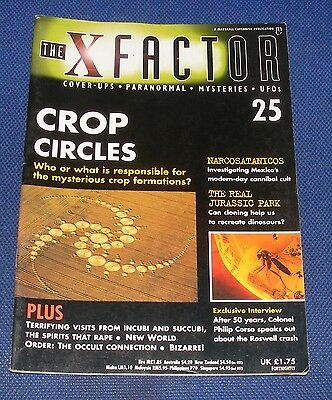 The X Factor No.25 - Crop Circles
