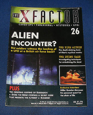 The X Factor No.26 - Alien Encounter?