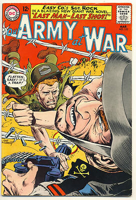 OUR ARMY AT WAR #152 VG, 4th all Sgt. Rock issue, DC Comics 1965