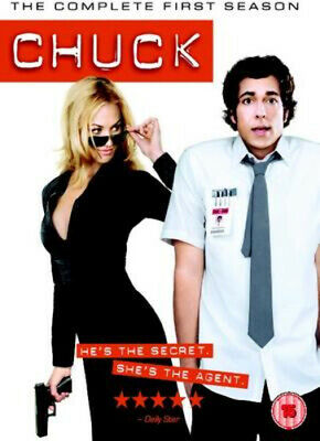 Chuck: The Complete First Season DVD (2008) Zachary Levi