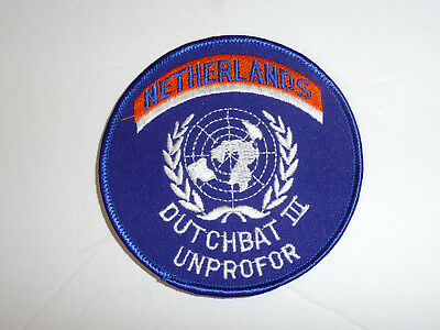 b3871 United Nations UN Netherlands Dutchbat III Unprofor patch Bosnia R2A
