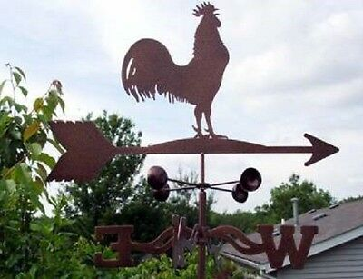 Rooster Weathervane - Classic Old Fashion Antique Look - With Choice of Mount