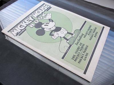Mickey Mouse Book BIBO & LANG 1930 Disney - EXTREMELY RARE - 1 of The Top GRADES