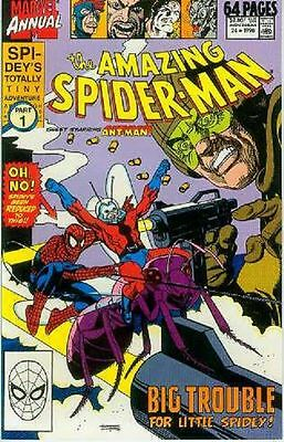 Amazing Spiderman Annual # 24 (guest: Ant-Man) (USA)
