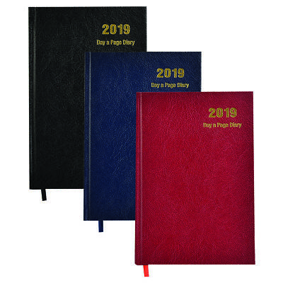 A4-A5 2017 Day to A Page- Week to View,Appointment Diary Hardback Cover