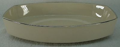 FRANCISCAN china MIDNIGHT MIST pattern OVAL VEGETABLE Serving BOWL 8-1/2""
