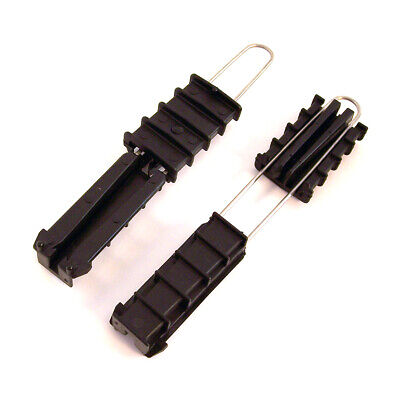 FX Lot of 2 Drop Wire Wedge Clamp Clip