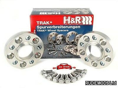 H/&R 5x120 Blackline 5mm Hubcentric Wheels Spacers to fit BMW 5 series F10 10on