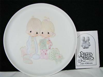 Precious Moments Our First Christmas Together Plate NEW MIB