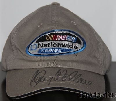 Kenny Wallace signed NASCAR Nationwide Series Adjustable Hat