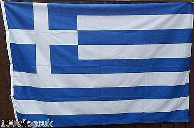 Greece Flag - 2:3 Ratio with Correct Pantone Colours *** TO CLEAR ***