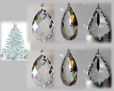 Sun catcher Hanging Crystal Drop Rainbow Prism Feng Shui Mobile Wind Chime x6