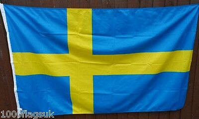 Sweden Flag - 5:8 Ratio with Correct Pantone Colours *** TO CLEAR ***