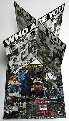 The WHO Who Are You 1978 US ORG Promo Only STORE DISPLAY Unused MINT! Mod
